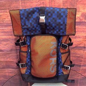 NWT Michael Kors Kent Rolltop Popblue Backpack